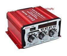 MINI AMPLIFICATORE AUTO 20W 2 CANALI 12 VOLT TELECOMANDO MA-600 OFFERTA