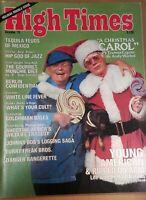 HIGH TIMES CHRISTMAS CAROL VINTAGE DEC 1978 MARIJUANA MAGAZINE NOS WEED 420 N/M