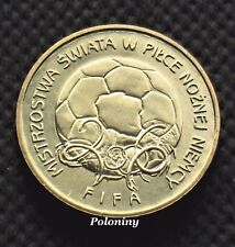 COIN OF POLAND - 2006 FIFA WORLD CUP SOCCER GERMANY (MINT)