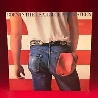BRUCE SPRINGSTEEN Born In The USA 1984 UK VINYL LP EXCELLENT CONDITION original