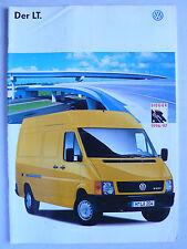 Prospekt Volkswagen VW LT, 7.1997, 32 Seiten