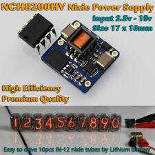 NCH8200HV fuente de alimentación DC de alto voltaje para tubos Nixie entrada 2.5-15v Tamaño Pequeño