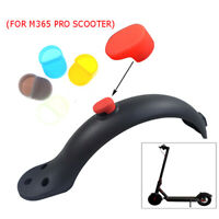 1pc For XiaoMi M365 Rear Fender Guard Silicone Hook Cover Electric Scoo uW
