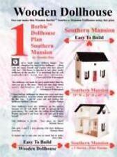 Barbie Dollhouse Plan Southern Mansion (Paperback or Softback)