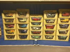 Matchbox Models Of yesteryear, (3) 25 Models In Straw Boxes, job Lot, Lesney,moy