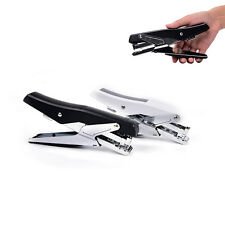 Plier stapler manual metal hand stapler with staples stapling office supplies AT