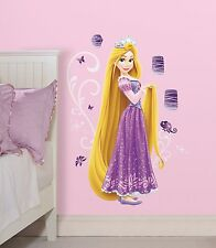 RAPUNZEL GiaNT WALL DECALS Disney Princess Stickers NEW Girls Purple Room Decor