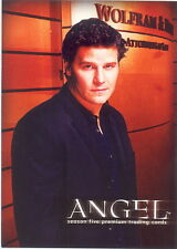 ANGEL SEASON 5 2004 INKWORKS PROMO CARD A5-WW WIZARD WORLD