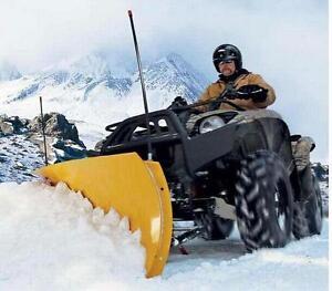 "WARN 60"" ProVantage ATV SnowPlow Front Mnt Suzuki 2008 -16 King Quad 750 AXI 4x4"
