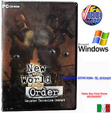 NEW WORLD ORDER COUNTER TERRORISM PC CD ROM WIN NUOVO