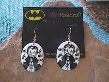 Vintage Joker Dangle Earrings - Batman 1989