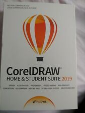 New sealed Corel - CorelDRAW® Home & Student Suite 2019 - Windows
