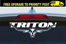 Mitsubishi TRITON 4WD ML MN MK LONGHORN DECAL