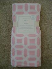 Pottery Barn Kids Baby Crib Peyton Geo Fitted Sheet,100% Organic Cotton