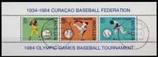Ned. Antillen gestempeld 1984 NVPH 775 - Baseball (SG222)