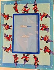 """Disney Store Mickey Mouse Sorcerer's Apprentice Fantasia Picture Frame 4""""x6"""""""