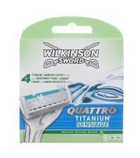 Wilkinson SWORD QUATTRO TITANIUM sensible - 8 Hojas