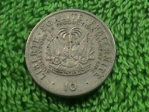 HAITI 10 Centimes 1975