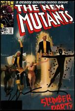 Bill Sienkiewicz SIGNED New Mutants #21 Vintage Art of Marvel Post Card