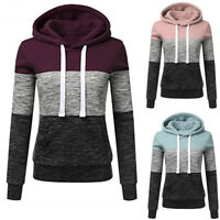 New Women Hooded Slim Sweatshirts Hooded Coat Jacket Outwear Casual Fahsion