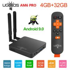 UGOOS AM6 Pro 4K S922X Quad Core Android 9.0 TV BOX 4GB+32GB BT5.0 5G WiFi USB