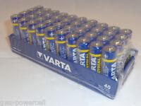Varta Batterie Industrial 40 x AA  LR06 + 40 x AAA LR3 Batterie Mignon Micro