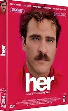 DVD *** HER *** avec Scarlett Johansson, Amy Adams  ( neuf sous blister )