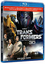 Blu Ray TRANSFORMERS 5 - L'Ultimo Cavaliere 3D - (2017) ....NUOVO