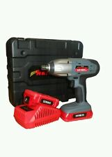 "Neilsen 24V 1/2"" Cordless Impact Wrench with 2 Lithium lon batteries New. CT3730"