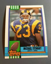 MICHAEL STEWART 1990 TOPPS FOOTBALL CARD # 83 B8438