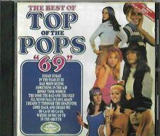 BEST OF TOP OF THE POPS 1969 CD ALBUM