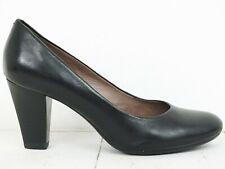 GEOX 💠 Damen Pumps Gr. 37 Schwarz Leder Schuhe High Heels Shoes