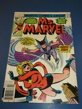 Ms. Marvel #9 Bronze age 1st Deathbird Key VFNM Beauty Wow
