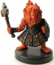 D&D Miniature -   AZER RAIDER  #32   (Harbinger Series - With CARD and UNUSED!!)