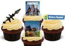 Fortnite Rocket Launcher pack Stand Up Premium Card Cake Toppers