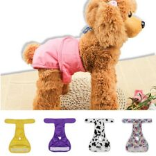 New Pet Physiological Pants Reusable Female Dog Diaper Underwear Sanitary Briefs
