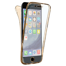 Coque Intégrale Protection Avant Arriere Full TPU Silicone iPhone X/8/7/6/5/SE/4