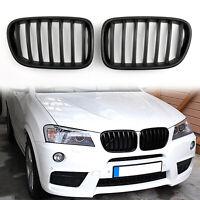 Avant Kidney Pare-chocs Grille Calandre Pour BMW F25 X3 2011-2013 Pre-LCI MNoir