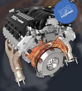 Mopar  6.4L 392 Hemi Complete Drop In Engine Assembly Mopar New In  Crate