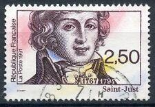 STAMP / TIMBRE FRANCE OBLITERE N° 2703 REVOLUTION / SAINT JUST