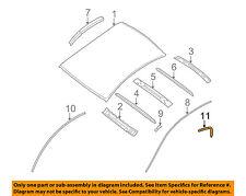 NISSAN OEM 07-12 Altima Roof-Drip Molding Left 76817JA000