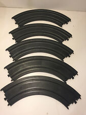 LOT OF 5 TYCO HO 9 1/4 CURVE TRACK