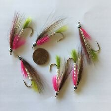 Little Rainbow Trout Fishing Fly Size 4 ~ Six (6) Fishing Flies