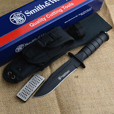 Smith & Wesson Search & Rescue Marine Combat Fixed Blade Knife CKSUR1