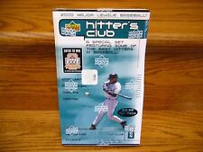 """2000 Upper Deck """"Hitter's Club"""" Factory Sealed Wax Box Possible Autographs 24 PK"""