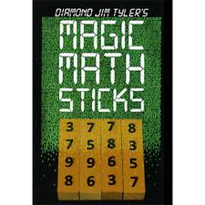 Magic Math Sticks (Wooden) by Diamond Jim Tyler from Murphys Magic