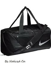 Nike Vapor Max Crossbody 2.0 Small Duffel Bag Black Gray Gym Training School New