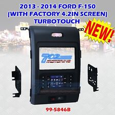 METRA 99-5846B 2013 - 2014 FORD F-150 TURBO TOUCH DOUBLE DIN DASH BEZEL KIT WIRE