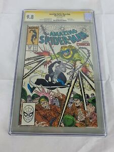 Marvel Comics Amazing Spider-Man #299 CGC 9.8 NM Venom Cameo Stan Lee Signature