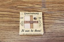 Vintage 1939 Takitapart Wooden Puzzle in Original Package